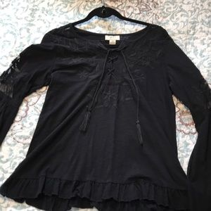 Style & Co peasant type blouse